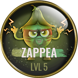 level badge